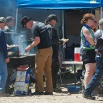 Club BBQ and family ride, spring 2014